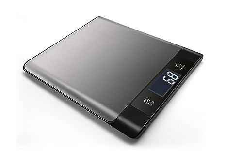 Mediatech Básculas de cocina, Bluetooth 4.0, función de tara, pantalla LCD, capacidad