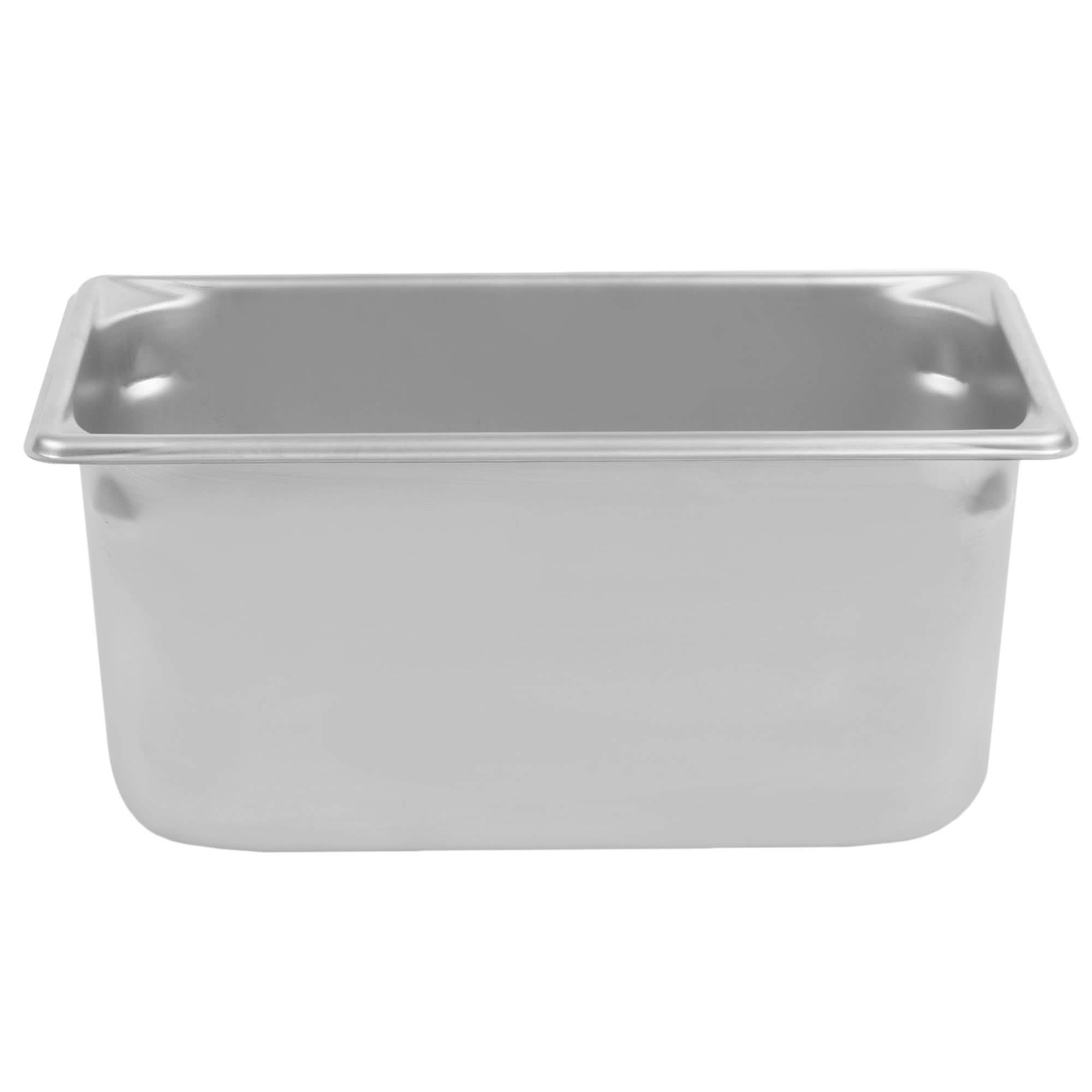 TableTop King 30362 Super Pan V 1/3 Size Anti-Jam Stainless Steel Steam Table/Hotel Pan - 6'' Deep by TableTop King