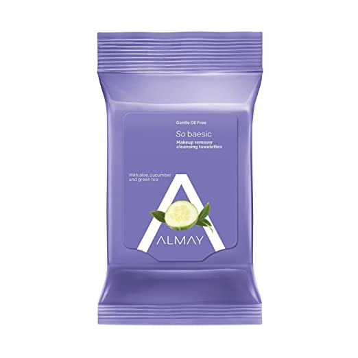 Amazon.com: Almay Clear Complexion 4-in-1 Makeup Remover Purifying Towelettes Hypoallergenic, 25 Count: Beauty