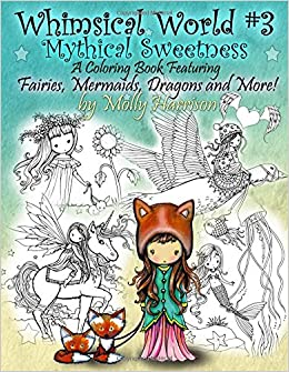 Whimsical World 3 Coloring Book