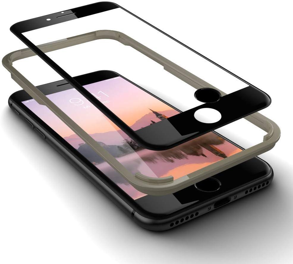 Glaz Geeignet Für Iphone 8 Panzerglas In Schwarz Elektronik