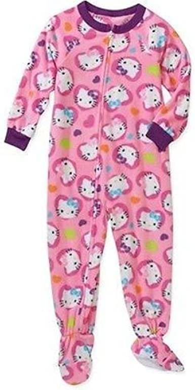 Hello Kitty Little Girl Footed Blanket Sleeper Pajama Size 3T
