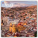 Mexico 2018 12 x 12 Inch Monthly Square Wall Calendar, Bilingual Spanish and English language Scenic Nature (Spanish Edition)