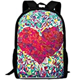 ZQBAAD Abstract Love Luxury Print Men And Women's Travel Knapsack