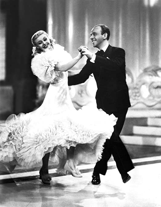 Amazon Com Posterazzi Evcmbdswinec014 Swing Time Ginger Rogers Fred Astaire 1936 Photo Print 8 X 10 Multi Posters Prints