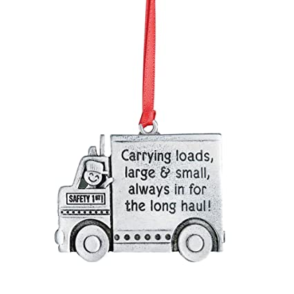 Collections Etc Occupational Christmas Tree Ornaments, Trucker - Amazon.com: Collections Etc Occupational Christmas Tree Ornaments