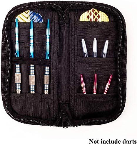 Bolsa de Dardos Balight 1 Juego (Dardos) Accesorios Estuche de Transporte Bolsillos para billeteras Porta Bolsas Bolsa de Almacenamiento Negro Durable: Amazon.es: Deportes y aire libre