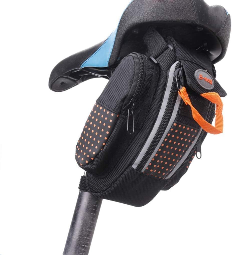 Topker Fahrradtasche Pannier MTB Fahrrad-Stra/ßen-Fahrrad-Endst/ück-Satteltaschen hinten Sattelst/ütze Aufbewahrungstasche M/äppchen