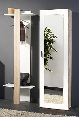 Garderoben spiegelschrank bestseller shop f r m bel und - Amazon spiegelschrank ...