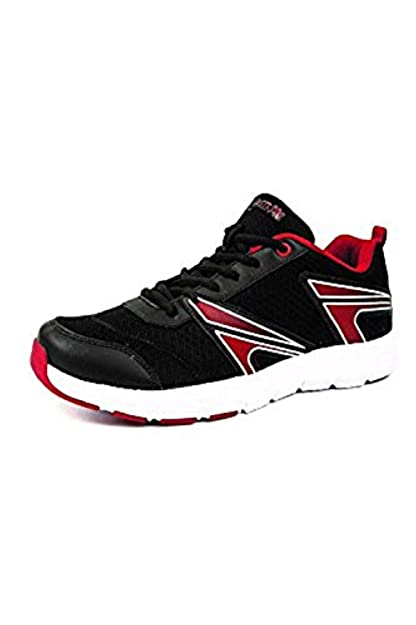 d8d4e23e981c Mmojah Men Energy-33 Black Red White Running Sports Shoes-6  Buy Online at  Low Prices in India - Amazon.in