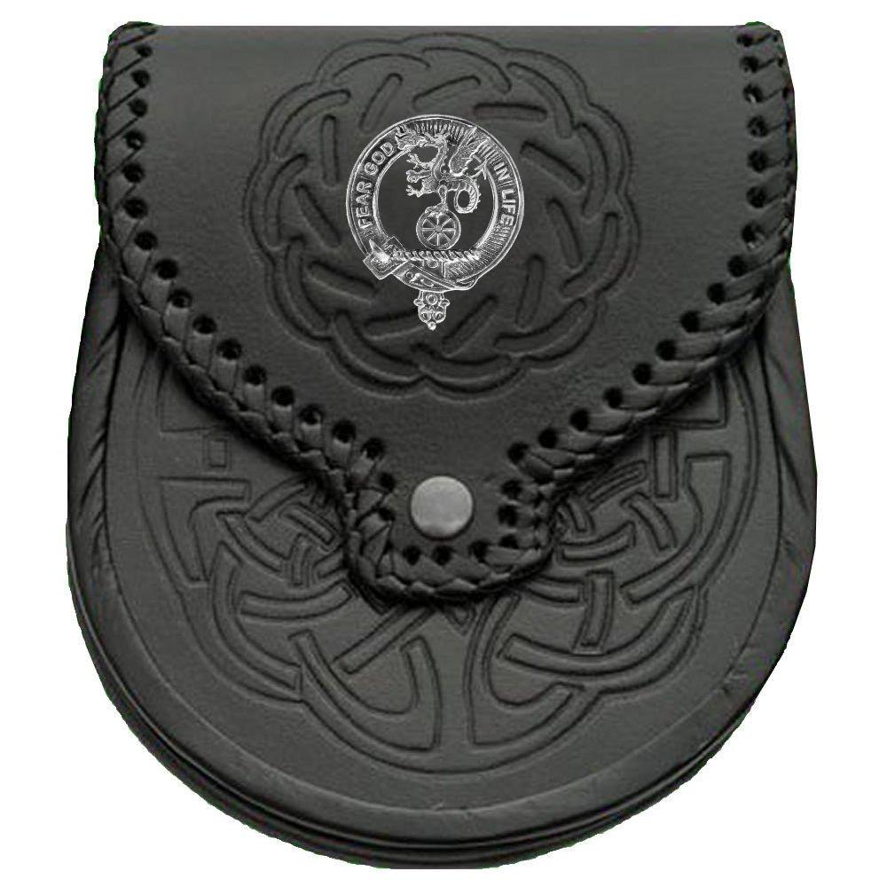 Somerville Scottish Clan Crest Badge Sporran