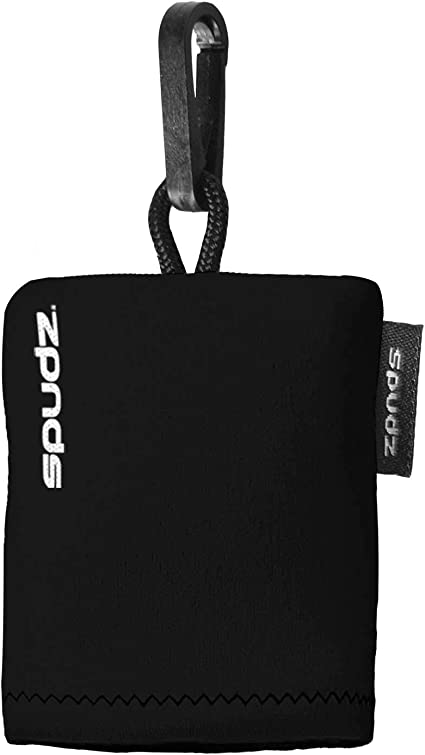 Alpine Innovations and Lens Cleaner in Compact Pouch 10x10 Screen Cleaner Black Microfiber Cloth Spudz Ultra