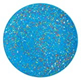 Zak Designs Confetti 11-Inch Recycled-Melamine Dinner Plate, Turquoise
