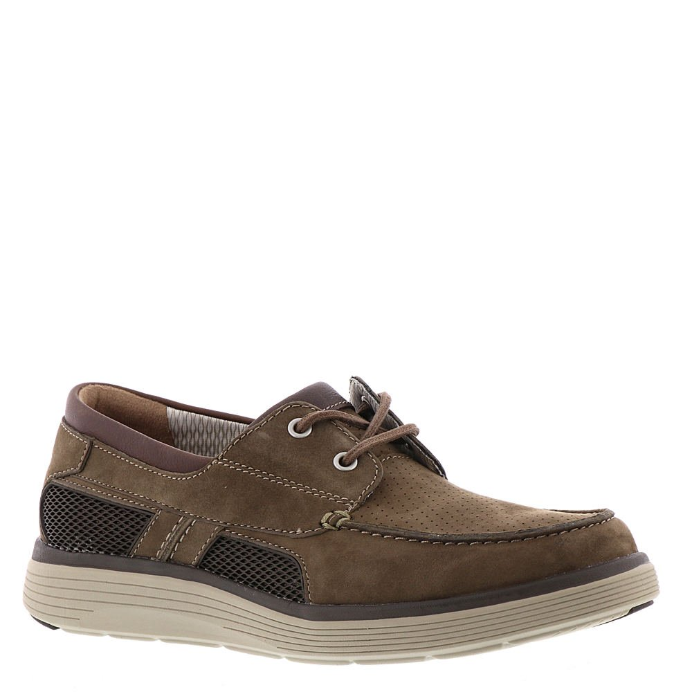 Olive Combi Clarks Men's UnAbode Step Boat shoes