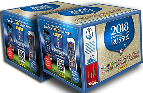 Panini 2018 FIFA WORLD CUP RUSSIA 2 BOXES from Panini