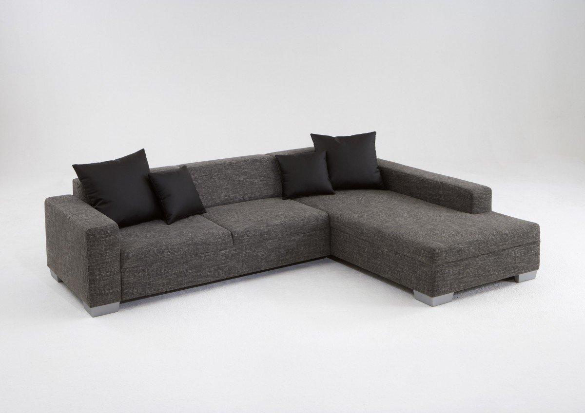 Dreams4Home Ecksofa \'Marliee\' - Ecksofa, Couch, L-Form, Recamiere ...