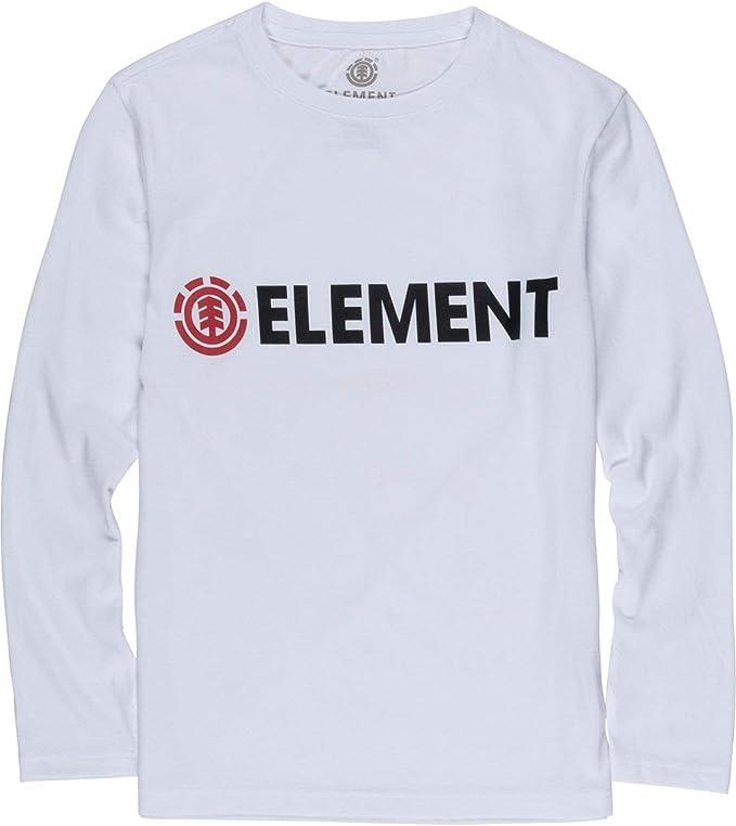 Element - Camiseta de Manga Larga - Niños - 14 - Blanco ...