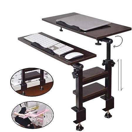 EFGS Portátil Ajustable Mesa para Cama, Inclinable Ordenador ...