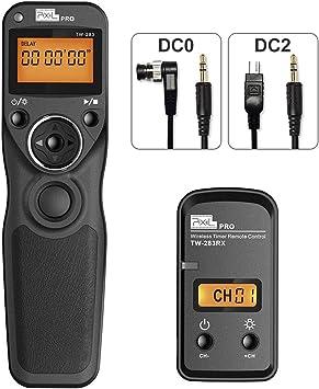 Z7 D500 D4s,D3100 D7200 AODELAN Camera Shutter Release Timer Remote Control for Nikon Z6 D4 D3 D610 D5 D5000 D3200 D600 D850,D810,D700 D750 D3300; Replace MC-DC2,MC-36,MC-30A