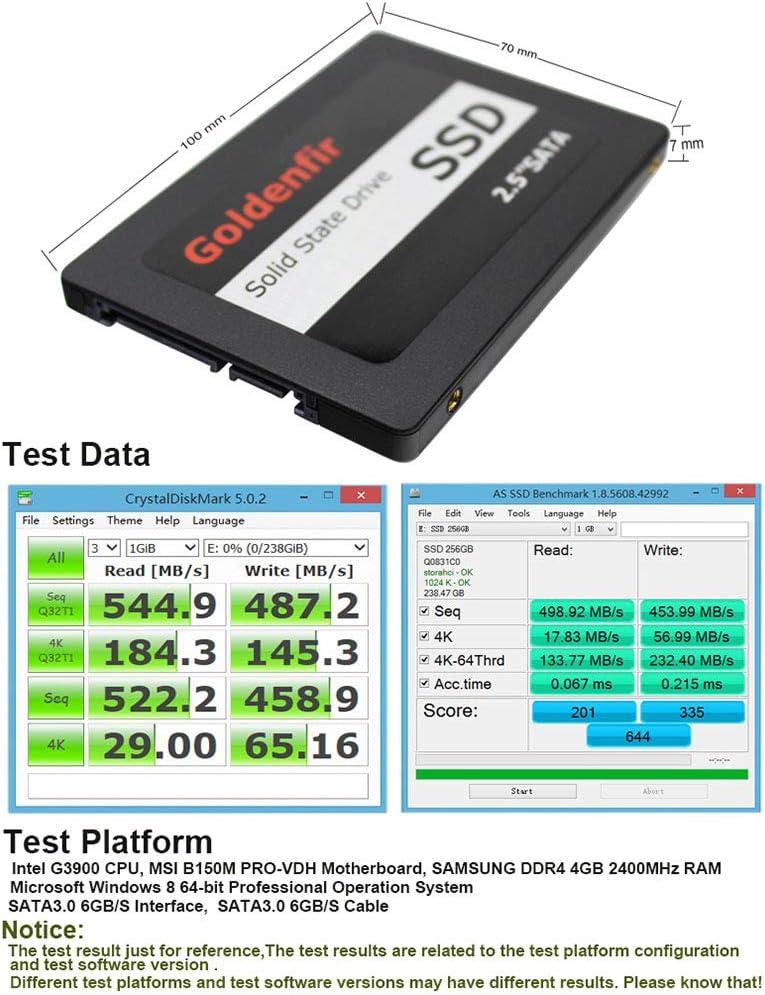 Alician for SATA3.0 SSD Disco Duro Interno de Estado sólido para ...