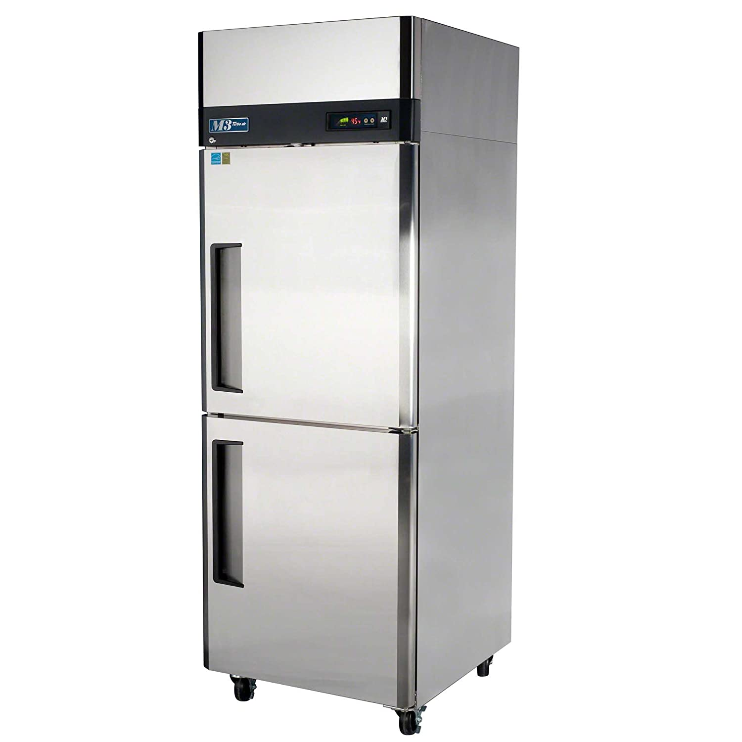 Turbo Air M3F24-2 2 Half Doors Reach-In Freezer