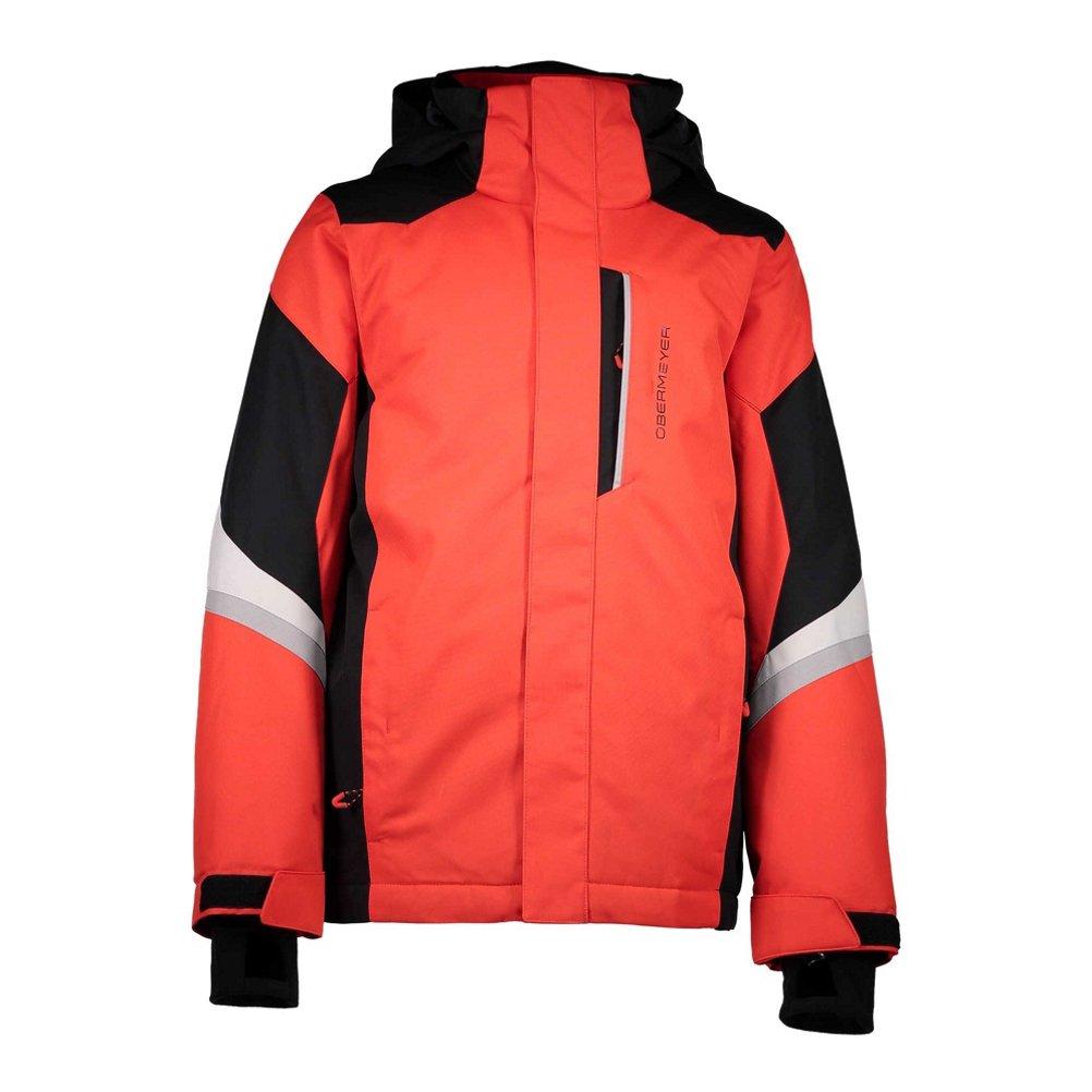 Obermeyer Kids Boy's Fleet Jacket (Little Kids/Big Kids) Red Large