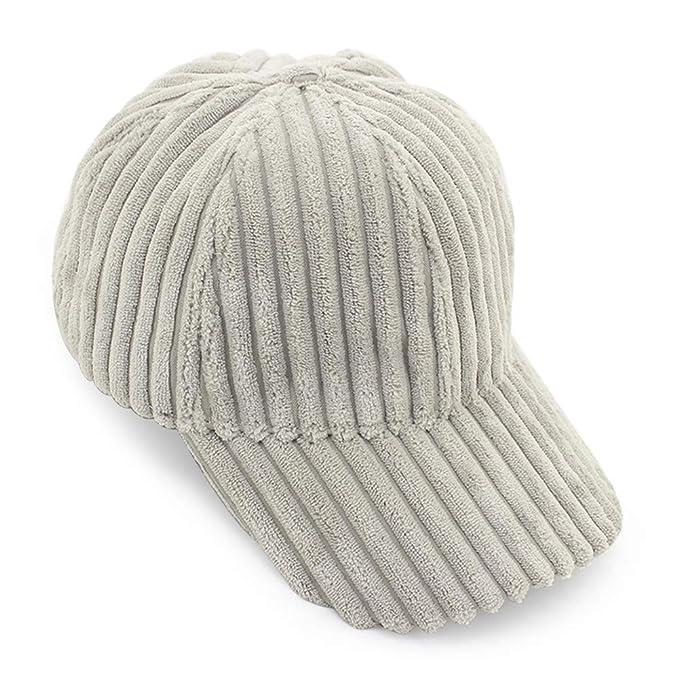 oobest - Gorra de béisbol - para Mujer Gris Gris Claro Talla de un ...
