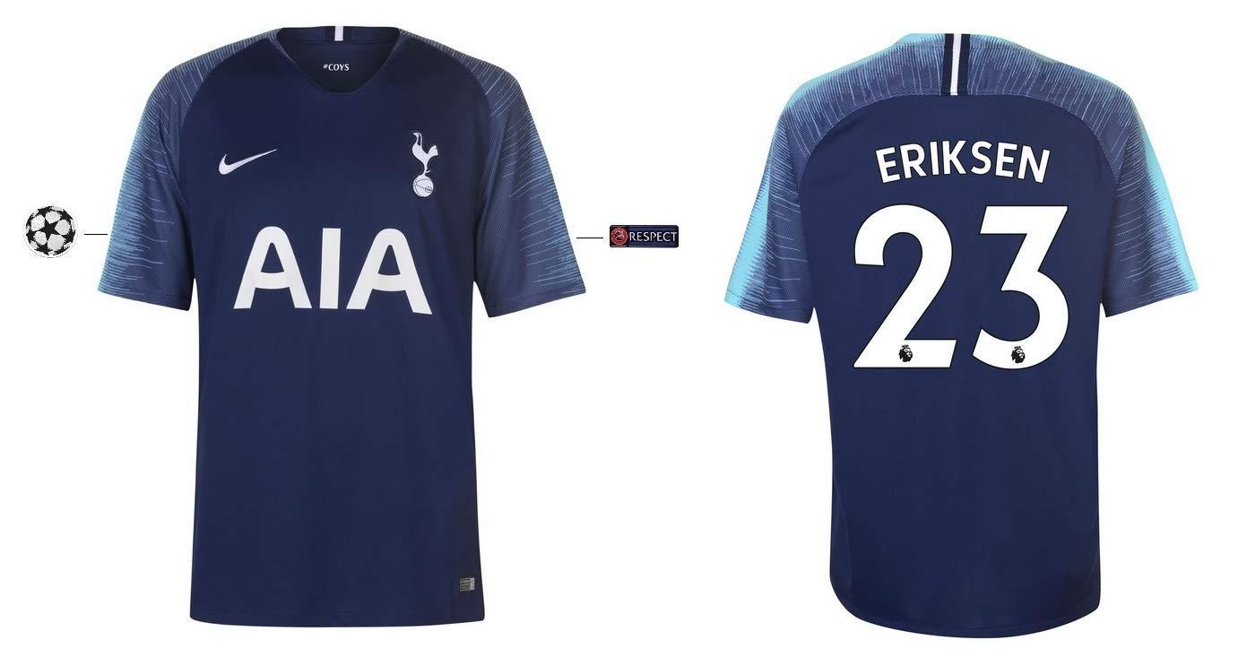Tottenham Hotspurs Trikot Kinder 2018-2019 Away UCL - Eriksen 23