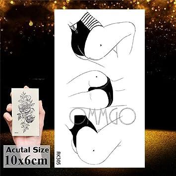 Tatuaje Temporal,Cuerpo De Transferencia Pequeña Pegatinas 7 Hojas ...