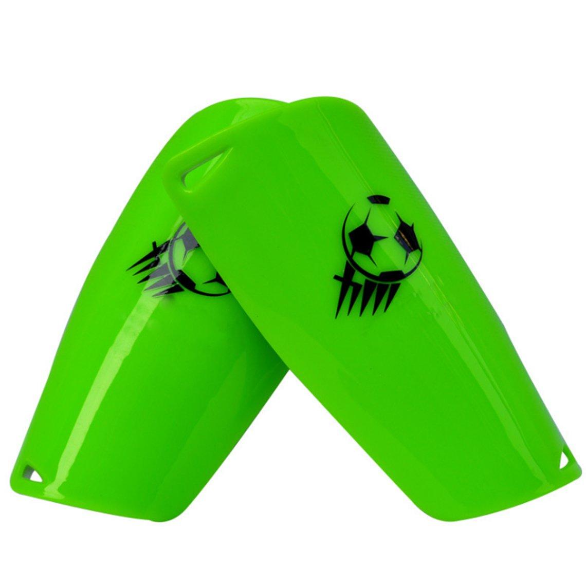 サッカーすね当てaccelift脚ふくらはぎ保護Shinパッドサポートサッカーアクセサリー軽量快適な耐久性、子Boys Girls Youth B073R8R93Xグリーン
