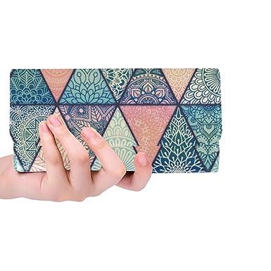 Amazon.com: Monedero de estilo bohemio persa con patrón de ...