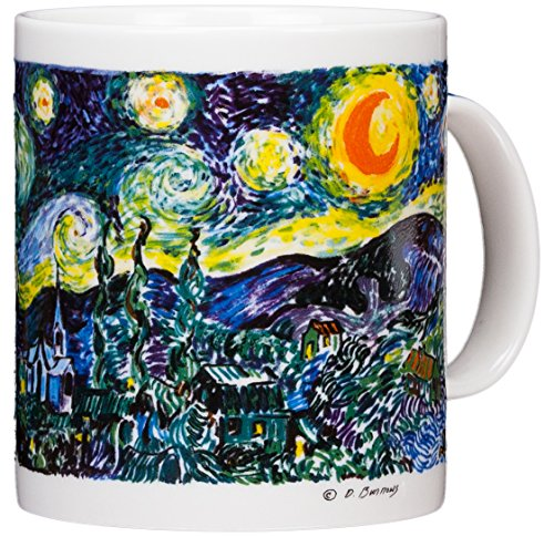 Vincent Van Gogh - The Starry Night - 14oz Coffee -