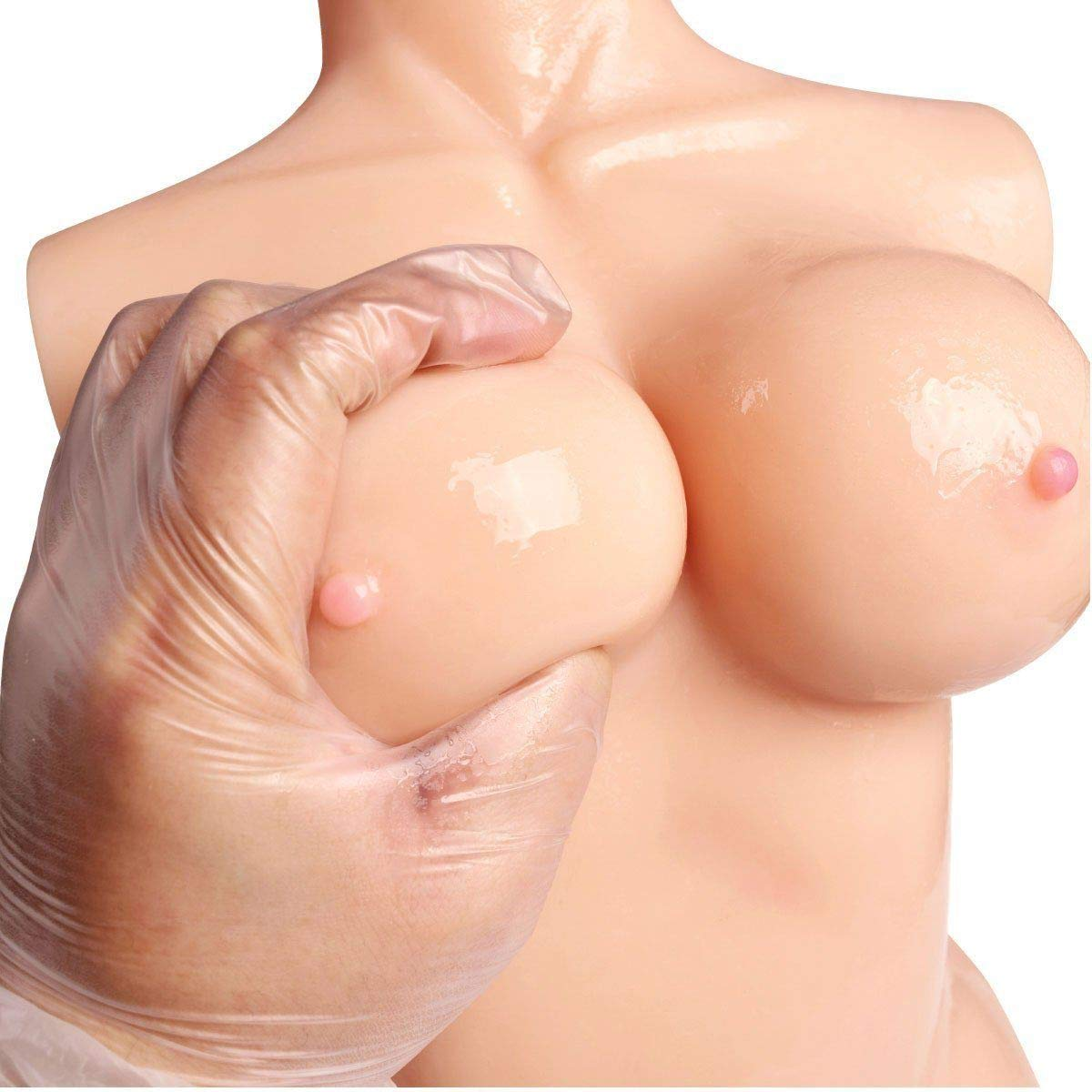 3D Lifelike Love Doles for Man Male Adult Toy Soft Silcone Women Full Body C Cup Torso Pussycat Love Toy for Men 100% Safe Men's Best Relaxing Gifts (10x6.2x4 in) by GOONANA (Image #3)