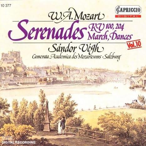 Serenades K.100, K.204 / March / Dances