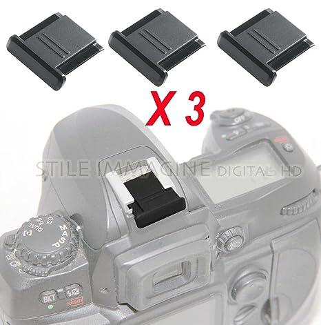 Copri Slitta Flash.Digital Hd 3 X Protezione Copri Contatti Slitta Flash Compatibile Con Nikon Canon Pentax Come Nikon Bs 1