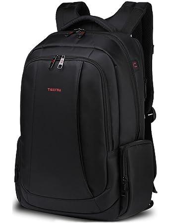Norsens Notebook Laptop Rucksack Tasche 17 Zoll Gepolsterter Wasserdicht  Business Damen Herren Notebook Computer Schwarz b4cf9eabb5