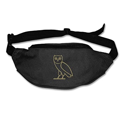 Amazon.com   Drake Logo Sports Woman s Fanny Bag Black   Sports ... 47aeb3cac6f8e