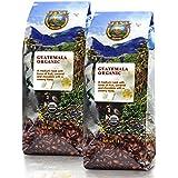 Java Planet - Guatemalan USDA Organic Coffee Beans, Medium Roast, Shade Grown, Bird Friendly, Rainforest Alliance, Arabica Gourmet Specialty Grade A - packaged in two 1 LB bags