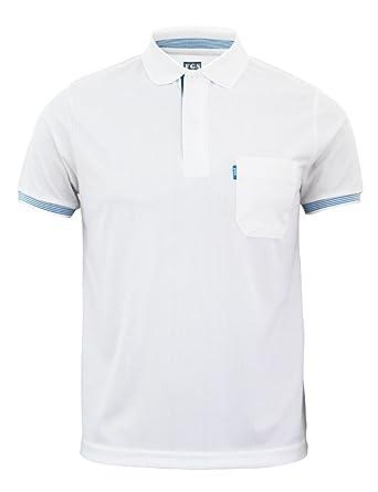 BCPOLO manga corta Camisetas de polo bolsillo para Hombre Mujer 5 ...