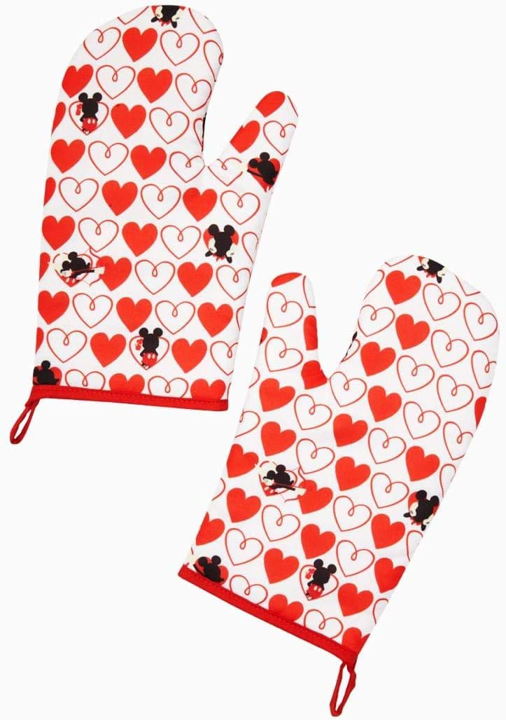 Disney Mickey Mouse Red Heard Series 2 Pack Oven Mitt