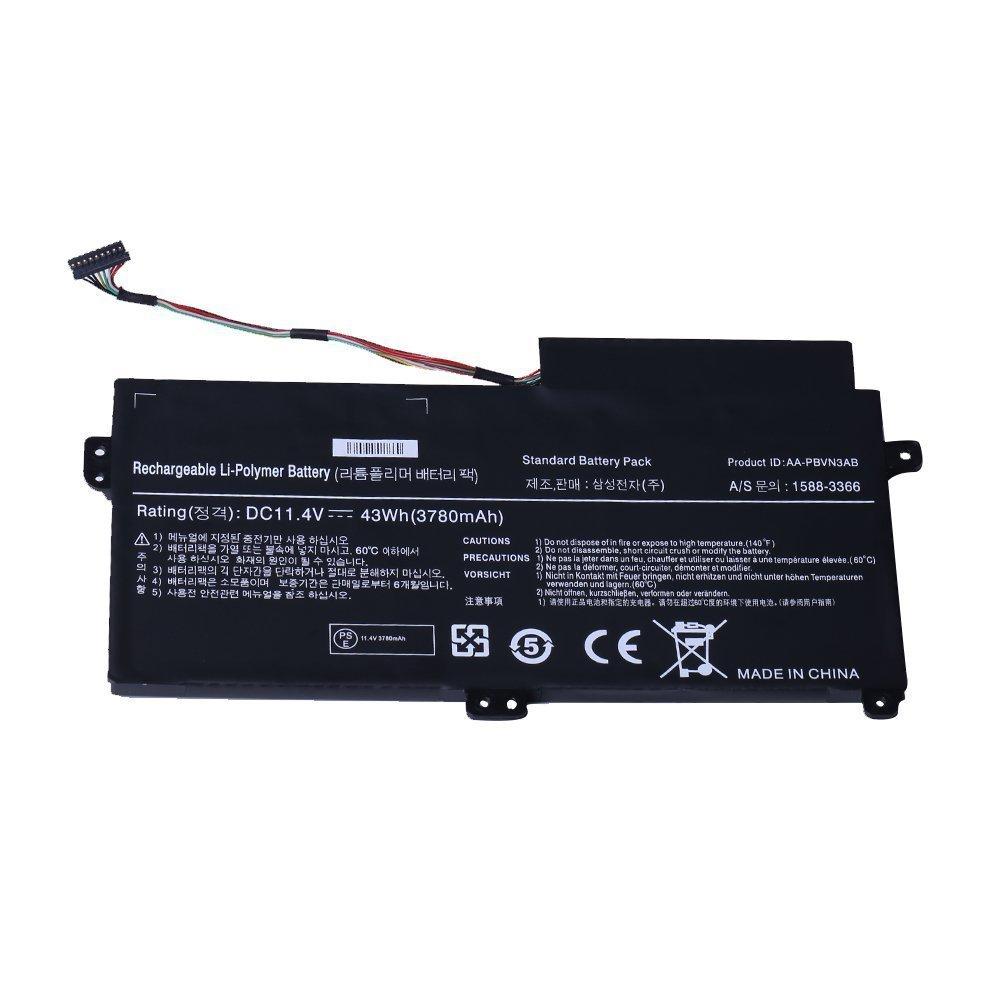 Bateria 11.4v 43wh 3780mah Para Samsung Aa-pbvn3ab Np370r4e Np370r5e Np450r4e Np450r5e Np510r5e
