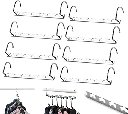 Cintre noir gain de place magique pliable dressing Multifonction