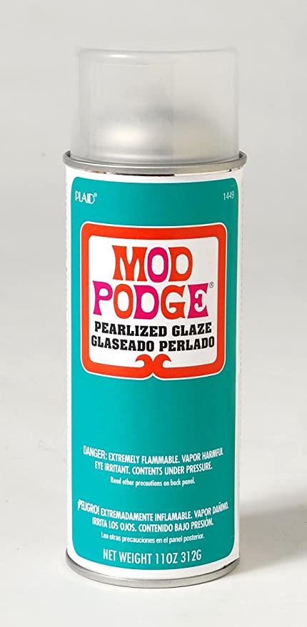 amazon com mod podge pearlized spray sealer 11 ounce
