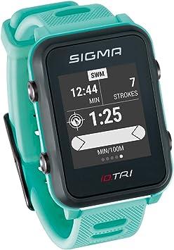 Sigma Sport ID.Tri Basic Reloj de triatlón GPS, Unisex-Adult, Neon ...