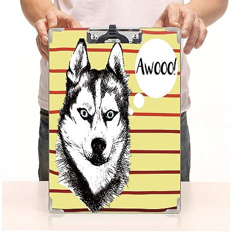 Amazon.com: Clipboard de impresión personalizada, paquete de ...