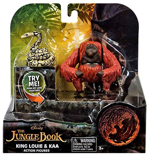 (Disney Jungle Book King Louie and Kaa Action Figures (2 Pack) )