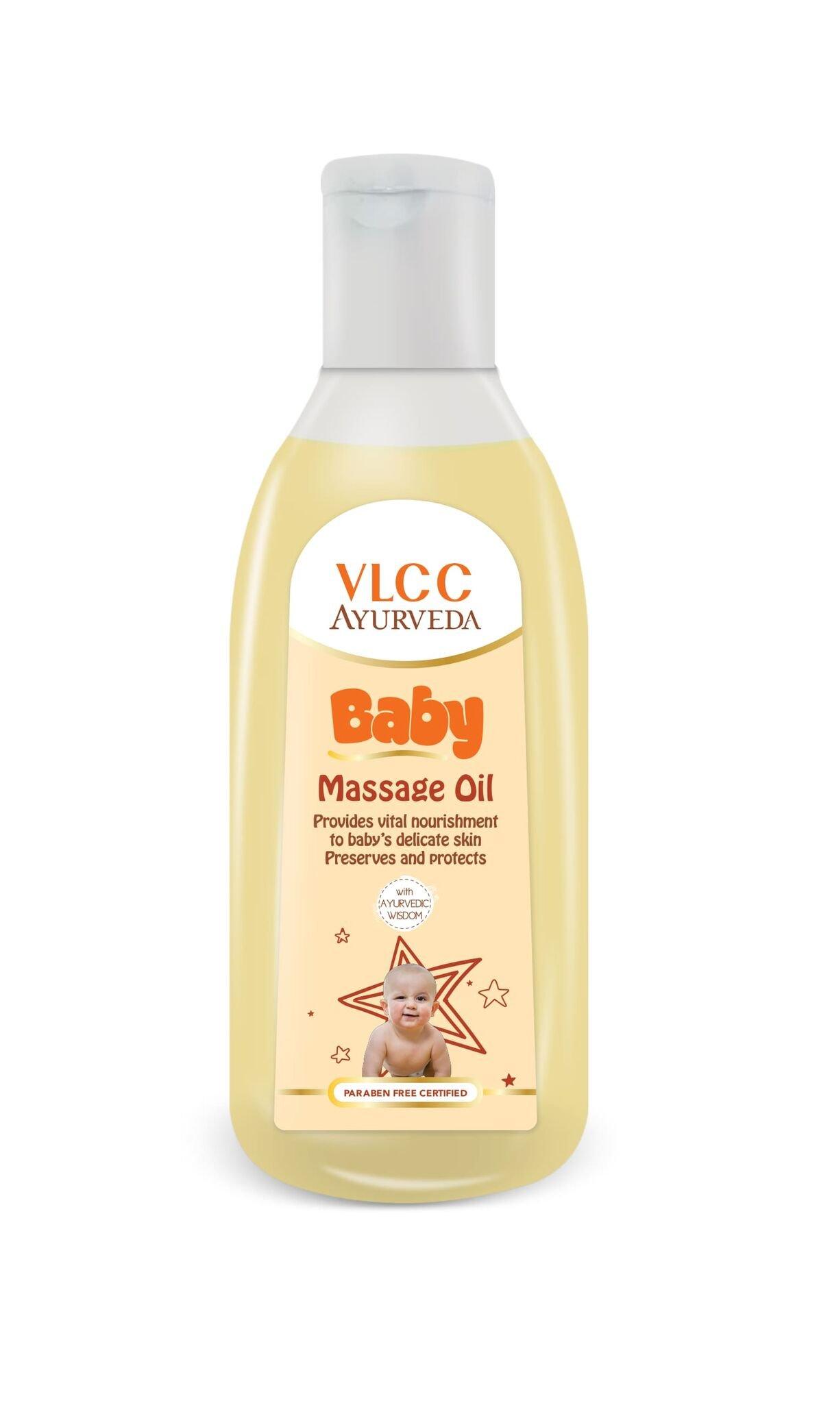 VLCC Ayurveda Baby Massage Oil (100ml) by VLCC