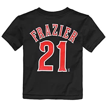 huge discount e7909 70ec6 Outerstuff Todd Frazier MLB Cincinnati Reds Team Player Black Jersey  T-Shirt Toddler 2T-4T