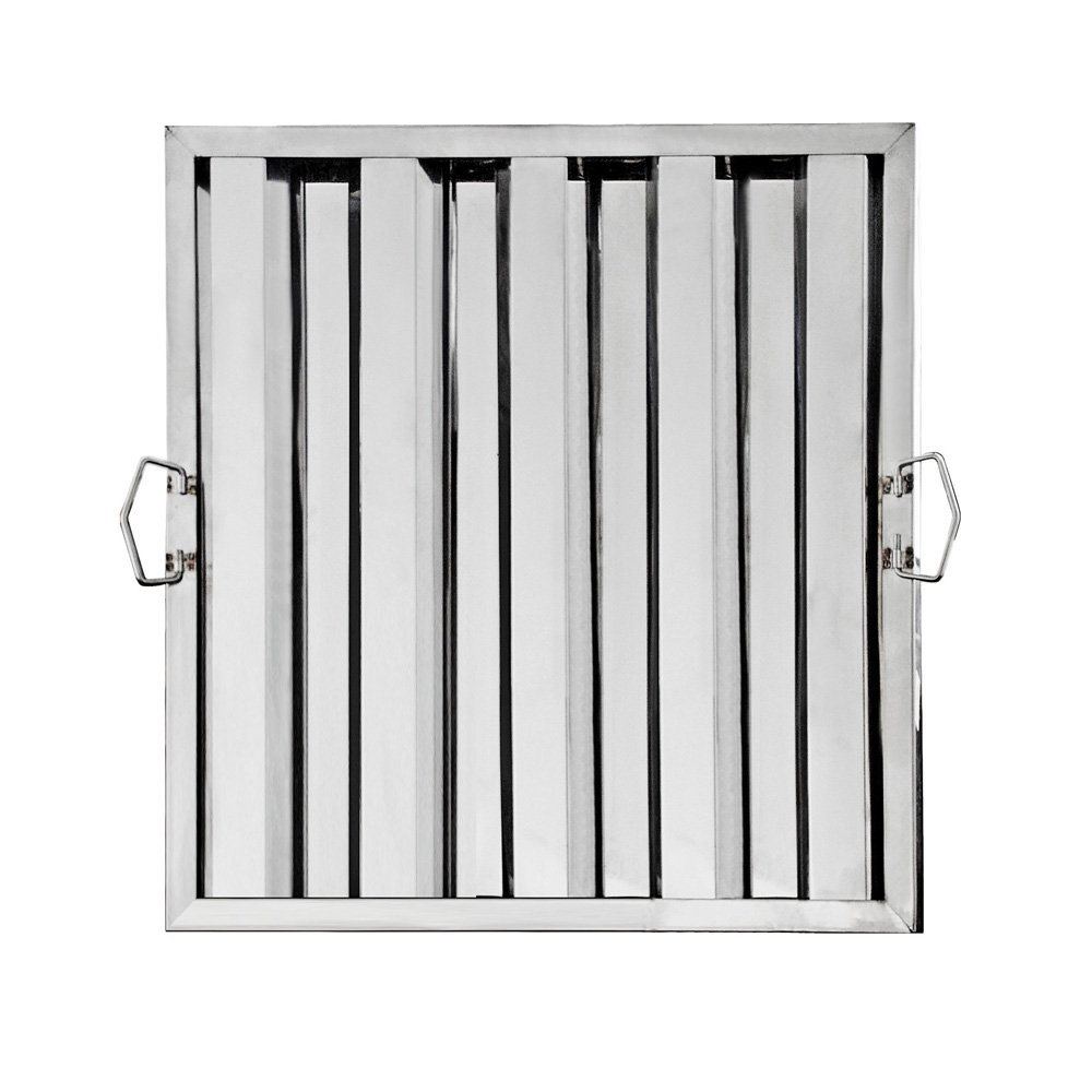 New Star Foodservice 54378 Stainless Steel Hood Filter, 20'' x 20''