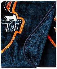 NFL Chicago Bears Grand Stand Raschel Throw, 50 x 60-Inch